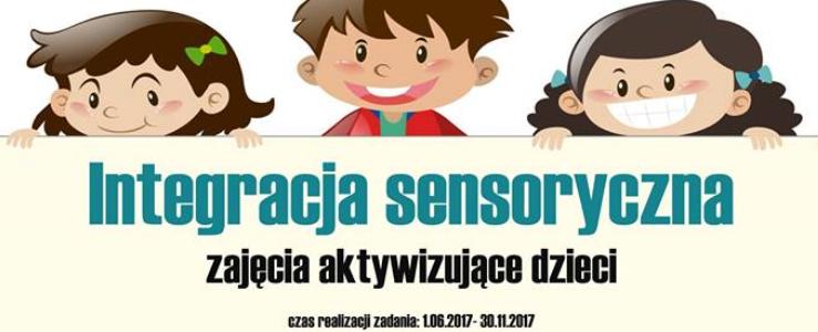 Integracja sensoryczna- zajęcia aktywizujące dzieci – rekrutacja