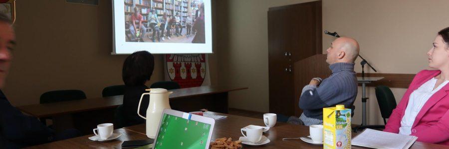Dzisiaj uczestniczyliśmy w spotkaniu dla organizacji pozarządowych.