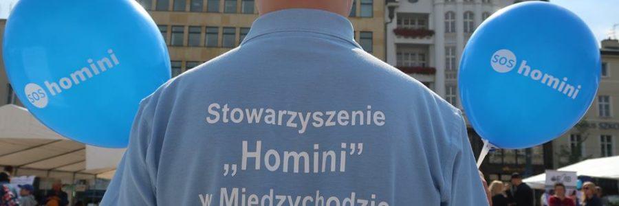 """""""SOS Homini – aplikacja komunikacyjna"""" – promocja."""